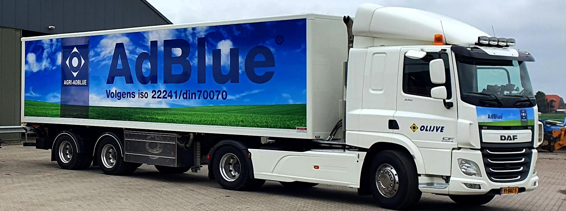 Vrachtwagen  AdBlue®